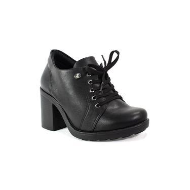 Sapato Quiz Oxford Feminino Preto