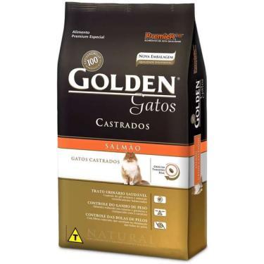 Ração Seca PremieR Pet Golden Salmão para Gatos Adultos Castrados - 10,1 Kg