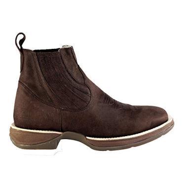 Bota Western Hb Agabe Boots 421.001 - Ch Tabaco - Solado de Borracha - PVC Bota Western Hb Agabe Boots 421.001 - Ch Tabaco - Numero:43