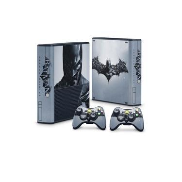 Skin Adesivo para Xbox 360 Super Slim - Batman Arkham Origins