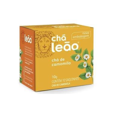 Chá Leão de Camomila 10g Embalagem c/ 10 Saquinhos