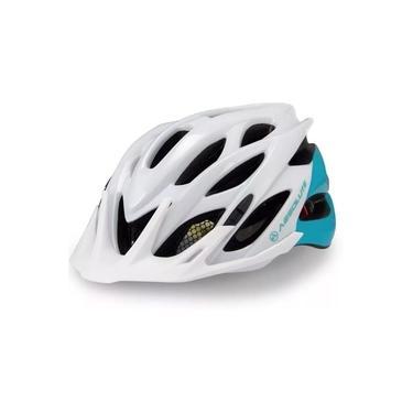 Imagem de Capacete Ciclismo Absolute Mia C/ Led Speed Branco/Verde P/M
