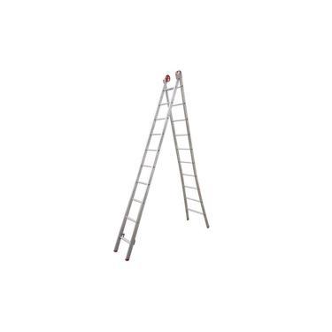 Imagem de Escada Extensiva Alumínio Botafogo 10 x 2 Degraus