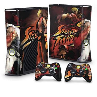 Skin Adesivo para Xbox 360 Slim - Street Fighter 4#A