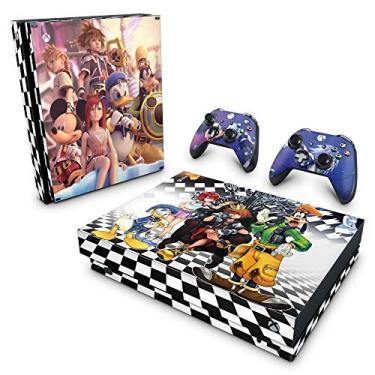 Skin Adesivo para Xbox One X - Kingdom Hearts