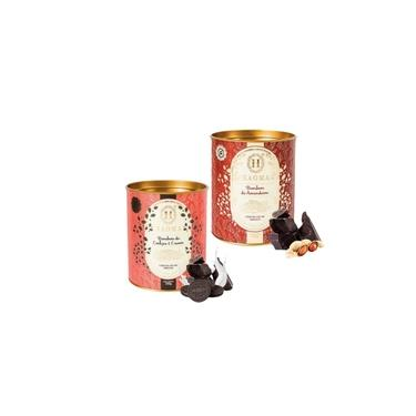 Haoma Bombom Chocolate Belga Amendoim E Cookies 2 Latas Kit