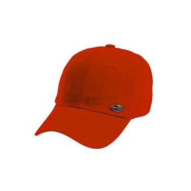 Boné Mormaii Basic Orange Ajuste Com Logo Metálico