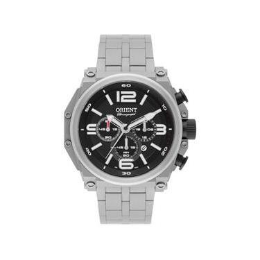 58f995dd41e Relogio Orient Masculino Cronografo Mbttc013 P2gx Titanio