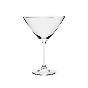 Jogo com 6 Taças Cristal Ecológico Martini 280ml Gastro - Bohemia