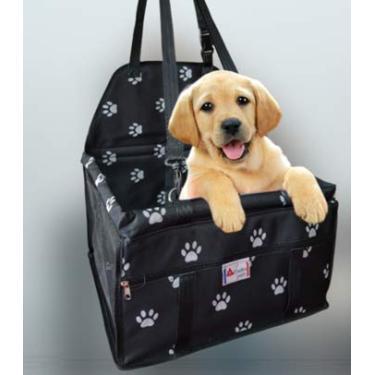 Bolsa Cadeirinha Luxo para Transporte de Cachorro e Gato no Assento do Carro