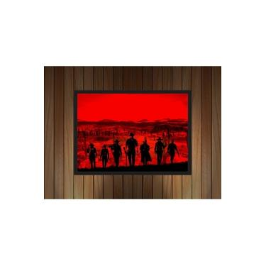 Quadro Decorativo Games Red Dead Redemption - 2.2