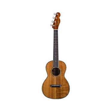 Ukulele Fender Nohea Tenor - Elétrico, Natural, com Bag