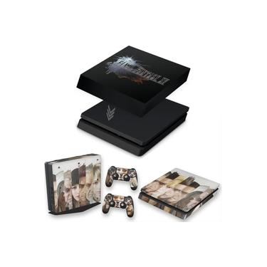 Capa Anti Poeira e Skin para PS4 Slim - Final Fantasy Xv #A