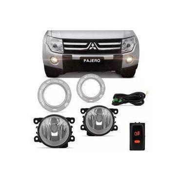 Farol Shocklight Mitsubishi Pajero 2007 Até 2015 Botão Modelo Original