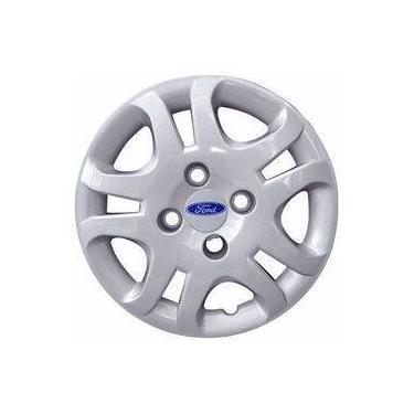 Jogo De Calota Fiesta Sedan 2011/2013 Ford Aro 14 Grid 026