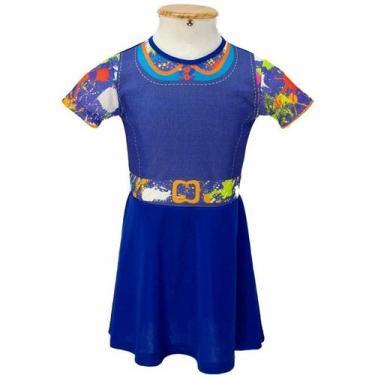 Imagem de Fantasia Chiquititas Infantil Vestido Com Nf 2 A 8 Anos - Fantasias Ca