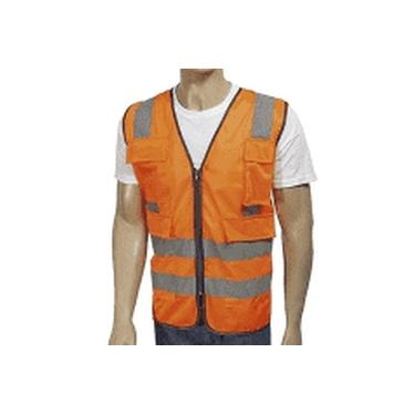 Colete Refletivo Am 2 Bolsos Tam Gg - Worker