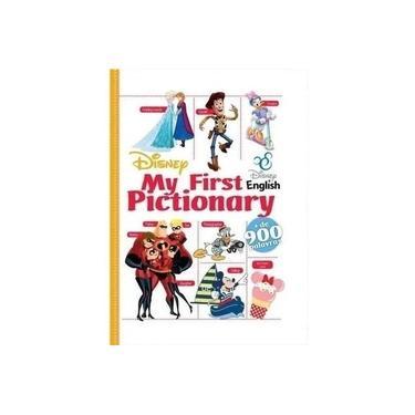 Imagem de Livro Pictionary Disney Primeiras Palavras Em Inglês