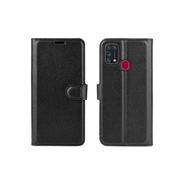 Capa Carteira + Pelicula Vidro 3d Samsung Galaxy M21s / M31