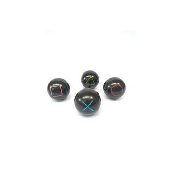Kit cabideiro bolas de sinuca formas geometricas ps