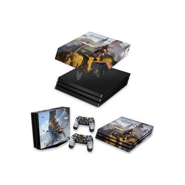Capa Anti Poeira e Skin para PS4 Pro - Horizon Zero Dawn