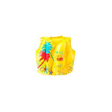 Imagem de Colete Boia Infantil Inflável Tropical 41cm X 30cm - Bestway