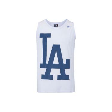 Camiseta Regata New Era Los Angeles Dodgers - Masculina - BRANCO New Era ab3a01a31a3