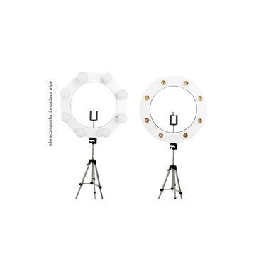 kit youtube Ring Light iluminação led luz selfie celular gravação maquiagem bancada estudio profissional