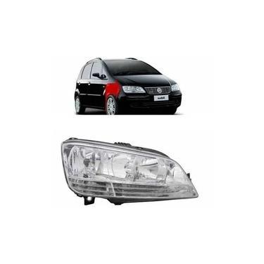 Farol Fiat Idea Lado Direito 2005 2006 2007 2008 2009 2010