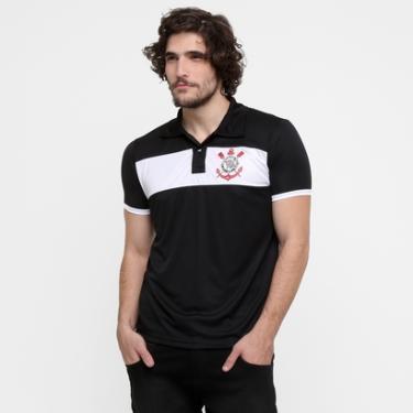 Camisas de Times de Futebol Casuais Corinthians Netshoes  b0bcd4f7846fd