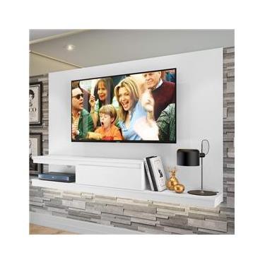 Painel para TV até 50 Polegadas 1 Gaveta KD1601 Home Quiditá Branco