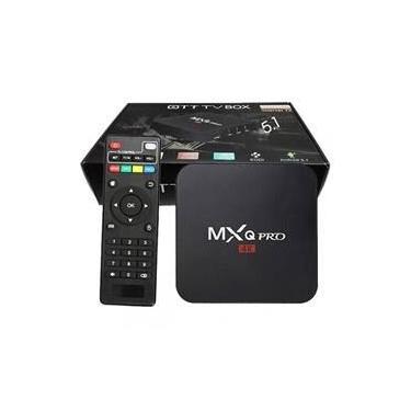Smart Tv Box Mxq 4k Quad Core Android 16gb rom com controle