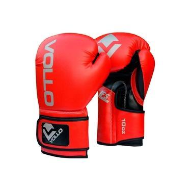 Luva De Boxe Muay Thai Training Vollo 10oz Vermelho