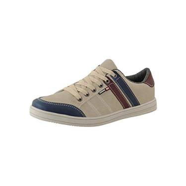 Sapatênis Masculino Casual CR Shoes Bege