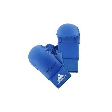 Luva Karatê adidas com Dedão Azul WKF Aprroved Old Collection