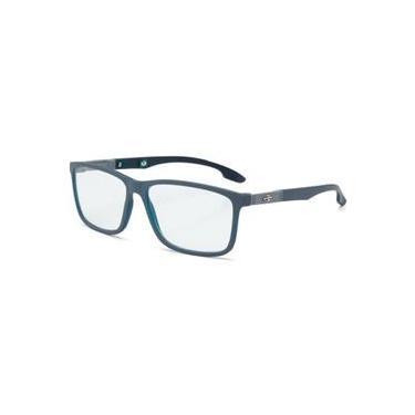 Armação Óculos Grau Mormaii Prana M6044D8355 Cinza Fosco 2cf7df127e