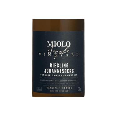 Vinho Fino Branco Miolo Single Vineyard Riesling Johannisberg