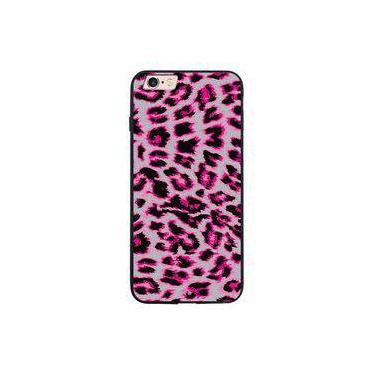 Capa My Capa Preta Apple iPhone 6 6s Animal Print - TX69