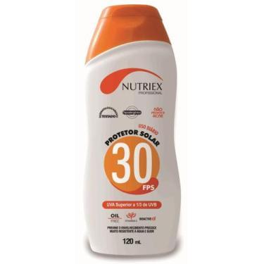 Creme Protetor Solar Nutriex - Fps 30 - 120 Ml