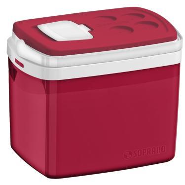 Caixa Térmica Soprano Vermelha 32 Litros