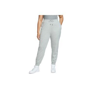 Calça de Moletom Nike Sportswear Essential Reg FLC Plus - Feminina Nike Feminino