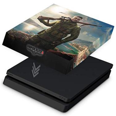 Capa Anti Poeira para PS4 Slim - Sniper Elite 4