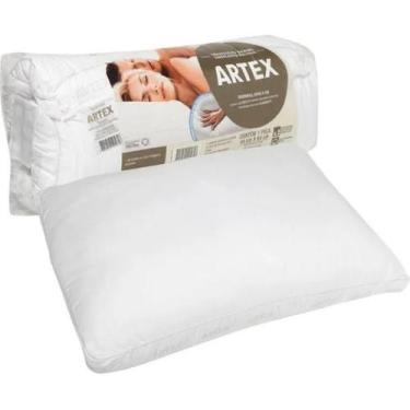 Imagem de Travesseiro Artex Memory 300 Fios 50X70cm Branco