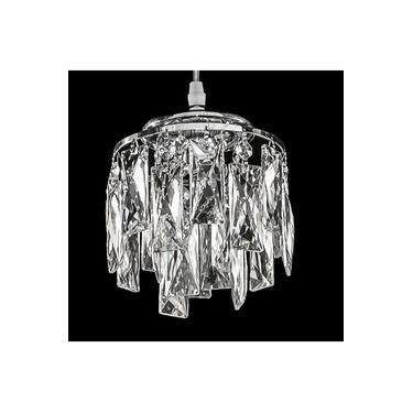 Pendente de Cristal Legítimo K9 Transparente - (7008-1 T) Dubai