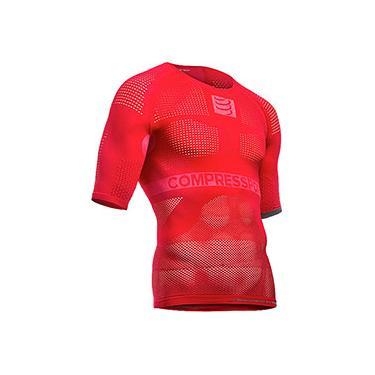 Camisa de Compressão On Off SS MultiSport Vermelho