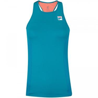 Camiseta Regata com Proteção Solar UV Fila Drappy - Feminina Fila Feminino
