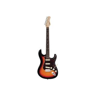 Imagem de Guitarra Tagima T 635 Classic Escala Escura Escudo Tortoise Sb - Sunburst