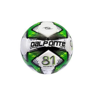 Bola 81 Dalponte Nitro Microfibra Futebol Campo Costurada a Mão