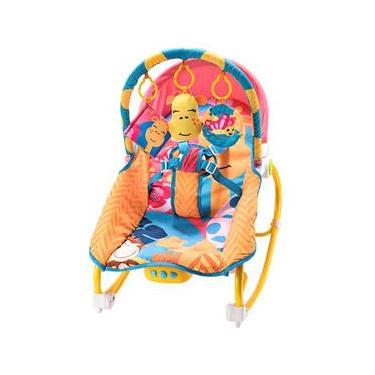 Cadeira de Descanso Multikids Baby BB364 Girafa - Até 20kg - Colorida