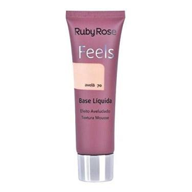 Imagem de Maquiagem Base Líquida Feels Avelã 70 Ruby Rose